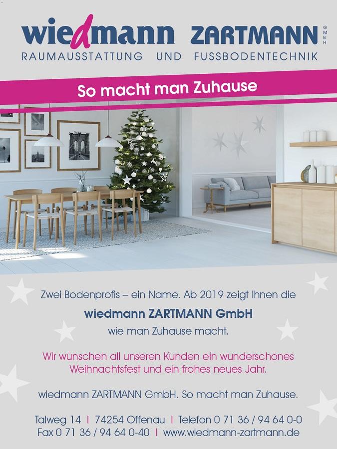 Wiedmann Zartmann Wir Wünschen Wundervolle Weihnachten
